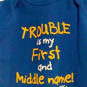 🇺🇸Trouble is my First and Middle Name, lap tee